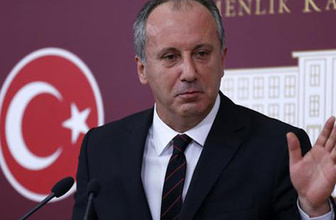 Muharrem İnce'den Cumhurbaşkanı Erdoğan'a yanıt