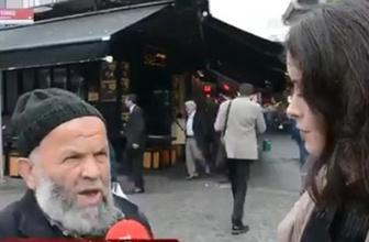 Sokak röportajı 155'lik oldu