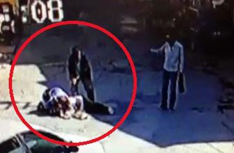 Karı-kocaya sokak ortasında kanlı infaz kamerada