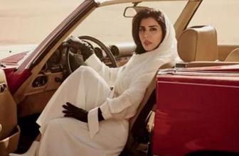 Suudi Arabistan prensesinden ezberbozan poz!