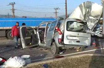 Amasya'da feci kaza! 3 ölü, 6 yaralı