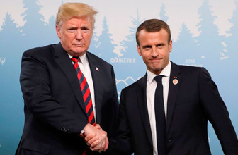 Fransa Trump'ı bombaladı! Öfke krizleri ve düşünülmemiş sözler...