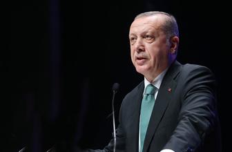 Cumhurbaşkanı Erdoğan'dan büyüme oranlarına ilk yorum