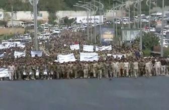 Irak'ta korkutan gelişme! Binlerce peşmerge sokakta