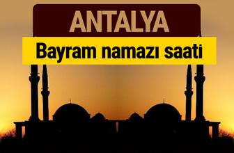 Antalya bayram namazı vakti kaçta 2018 diyanet saatleri