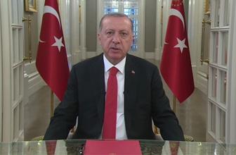 Cumhurbaşkanı Erdoğan'ın bayram mesajında özel rica!