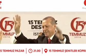 Erdoğan 15 Temmuz reklam filmi