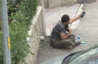 Ankara'da hareketli saatler! Kafasına silah dayadı