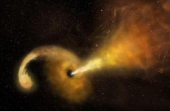 Bilim dünyası şaşkın… Kara delik yıldızı yutarken görüntülendi