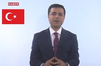 Selahattin Demirtaş cezaevinde çekildi TRT'de yayımlandı