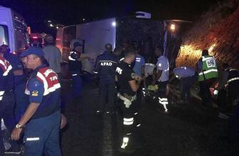 Sertavul geçidinde kaza: Ölü ve yaralılar var