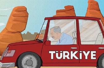 Temel Karamollaoğlu'ndan 'Süpermen' animasyonu!