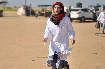 Gazze sınırında gönüllü kadın hemşire şehit oldu