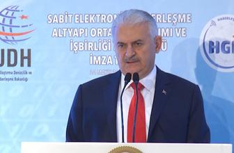 Başbakan Yıldırım'dan belediyelere çağrı: Telekom altyapısı kurmaya heveslenmeyin