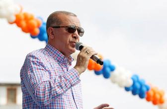 Cumhurbaşkanı Erdoğan'dan İnce'ye apolet cevabı
