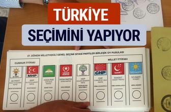 Genel Seçim 2018 Sonuçları 24 Haziran