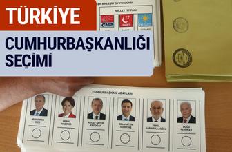 Cumhurbaşkanlığı YSK Seçim Sonuçları