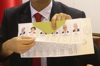 YSK Seçim Sonuçları 24 Haziran 2018 Sandık sonucu