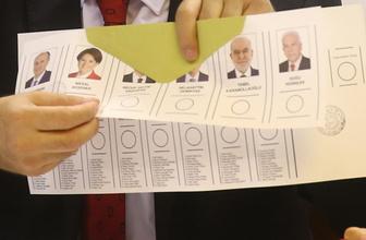 Recep Tayyip Erdoğan, Muharrem ince, Meral Akşener oy oranı 24 Haziran