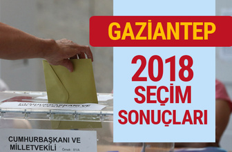 Gaziantep seçim sonuçları Antep milletvekilleri sonucu
