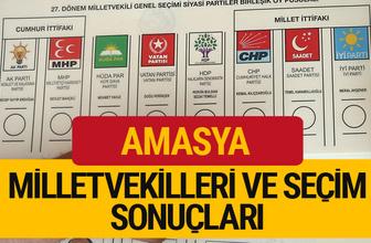 Amasya Milletvekilleri 27. dönem 2018 Amasya Seçim Sonucu