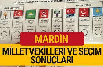 2018 Mardin Seçim Sonucu  27. dönem Mardin Milletvekilleri