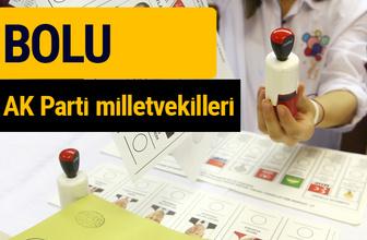 AK Parti Bolu Milletvekilleri 2018 - 27. dönem AKP isim listesi