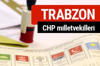 CHP Trabzon Milletvekilleri 2018 - 27. dönem Trabzon listesi