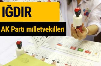 AK Parti Iğdır Milletvekilleri 2018 - 27. dönem AKP isim listesi