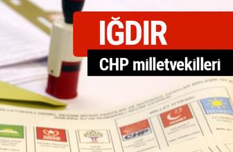 CHP Iğdır Milletvekilleri 2018 - 27. dönem Iğdır listesi