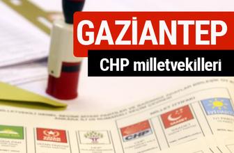 CHP Gaziantep Milletvekilleri 2018 - 27. dönem Gaziantep listesi