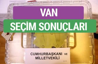 HDP Van Milletvekilleri listesi 2018 Van Sonucu