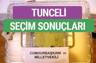 HDP Tunceli Milletvekilleri listesi 2018 Tunceli Sonucu