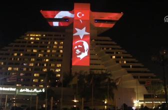 Katar'da Erdoğan'ın seçim başarısı kutlanıyor