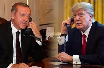 Trump, Cumhurbaşkanı Erdoğan'ı tebrik etti!