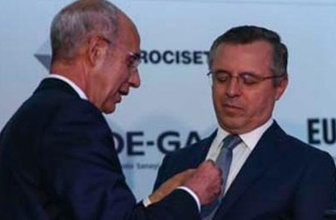 Erdoğan'ın Basın Danışmanı Göktaş'a İtalyan nişanı
