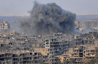 Esed rejimi Dera'yı vurdu: 14 sivil yaralandı
