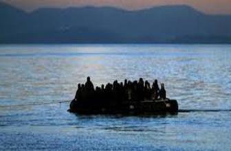 Akdeniz'de şok 100 göçmeni taşıyan bot battı