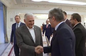 Başbakan Yıldırım, medya temsilcileri ile buluştu