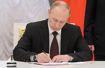 Rusya'dan Batı'ya misilleme! Putin imzayı attı