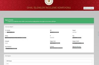OHAL Komisyonundan başvuru takip sistemine düzenleme