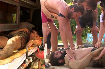 Survivor'da şok anlar: Turabi hastaneye kaldırıldı!