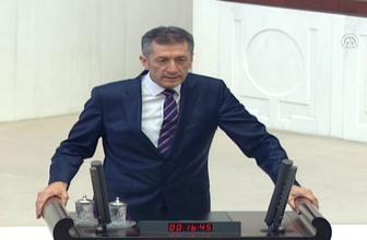 Milli Eğitim Bakanı Ziya Selçuk yemin etti