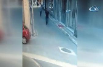 Kendisine laf atan kişiyi tabancayla kovaladı