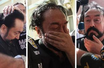 Polis Adnan Oktar'ın kafasına neden bastırdı? Anlamı ne?..