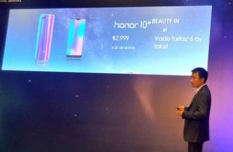 Honor 10'un Türkiye fiyatı duyuruldu!