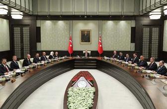 Tarihi kabine toplantısı sonrası ilk açıklama