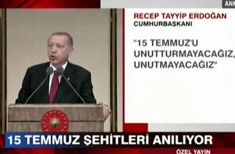 Erdoğan'dan çarpıcı mesajlar! Bu FETÖ'nün arkasından gelenler bitmez