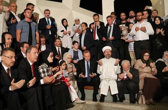 Cumhurbaşkanı Erdoğan, 15 Temmuz Şehitler Makamında