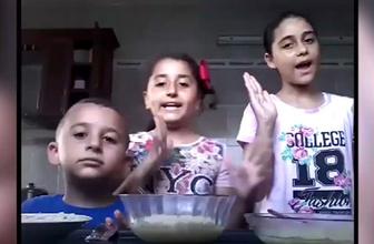 Korku dolu anlar! Çocuklar video çekerken İsrail saldırdı